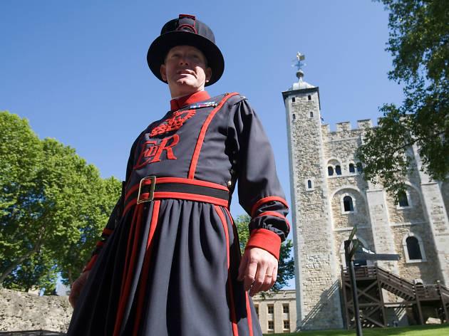 tower of london, yeoman