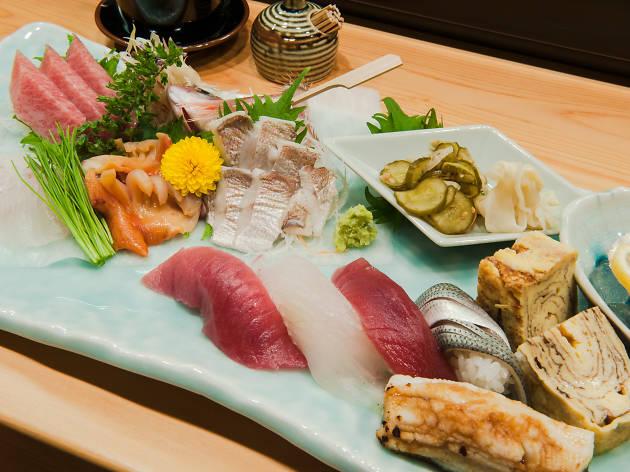 Trek for sushi...