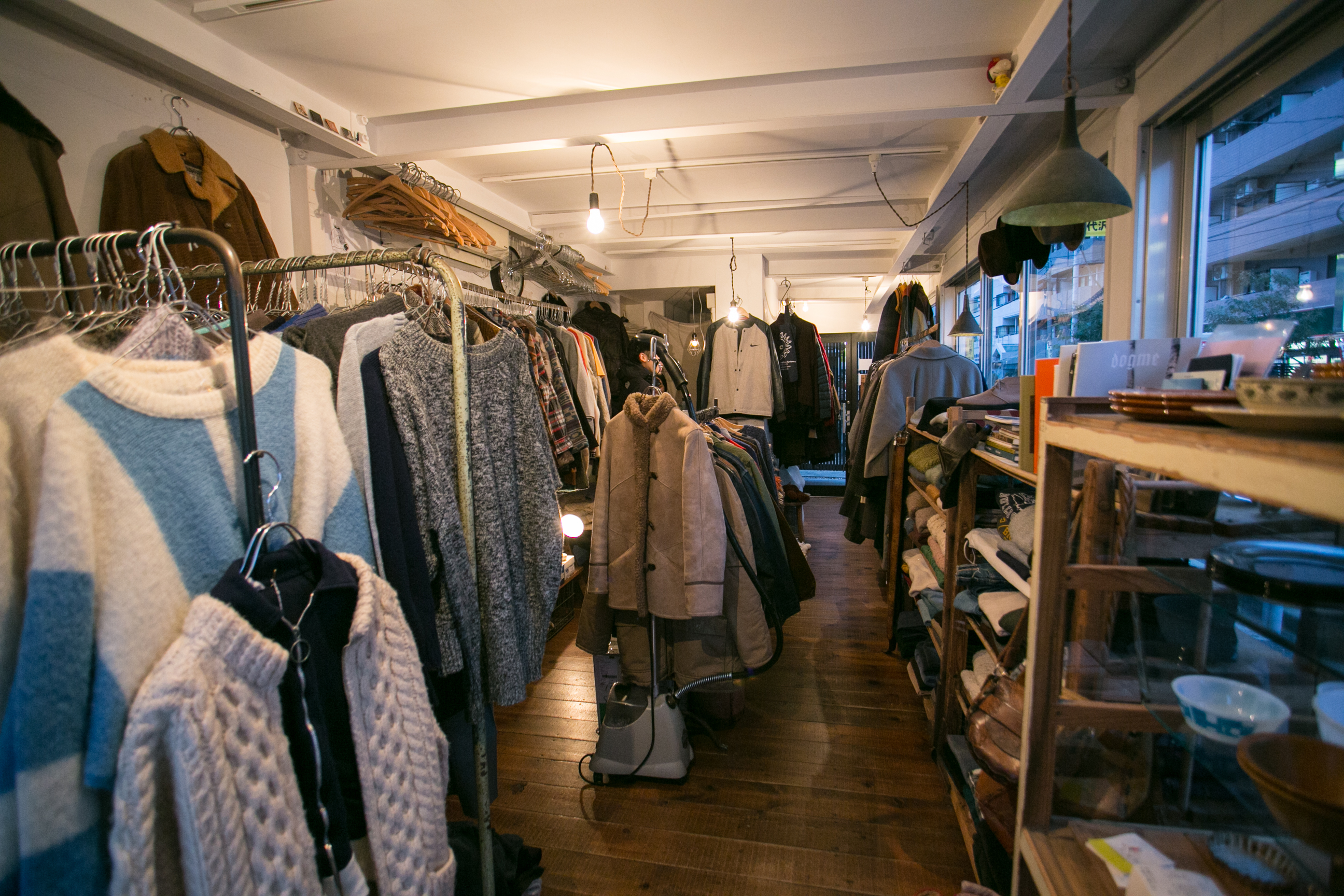 Shop for secondhand fashion...