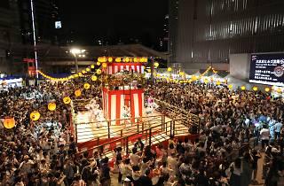 六本木ヒルズ盆踊り 2016