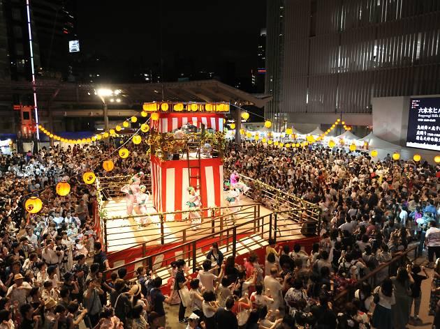 2.六本木ヒルズ盆踊り 2016
