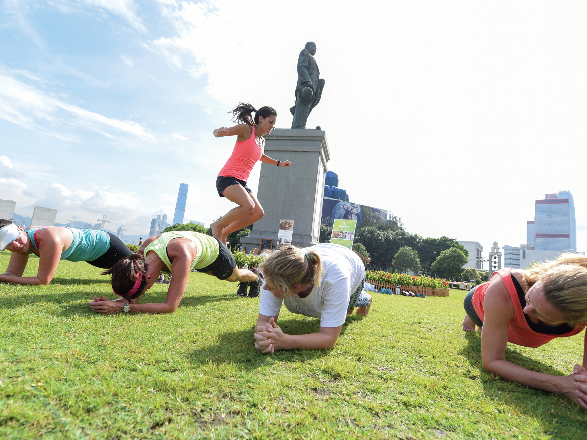 The best outdoor bootcamps in Hong Kong