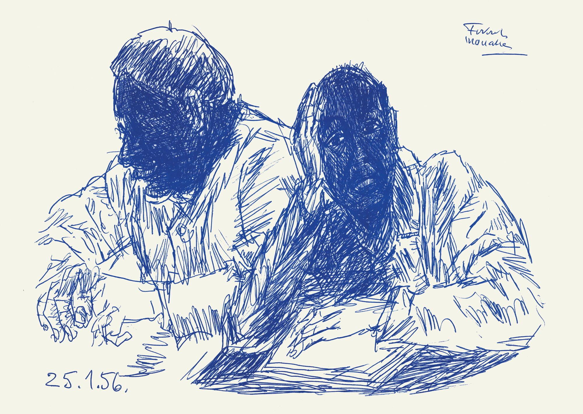 Drawings from Sainte Anne