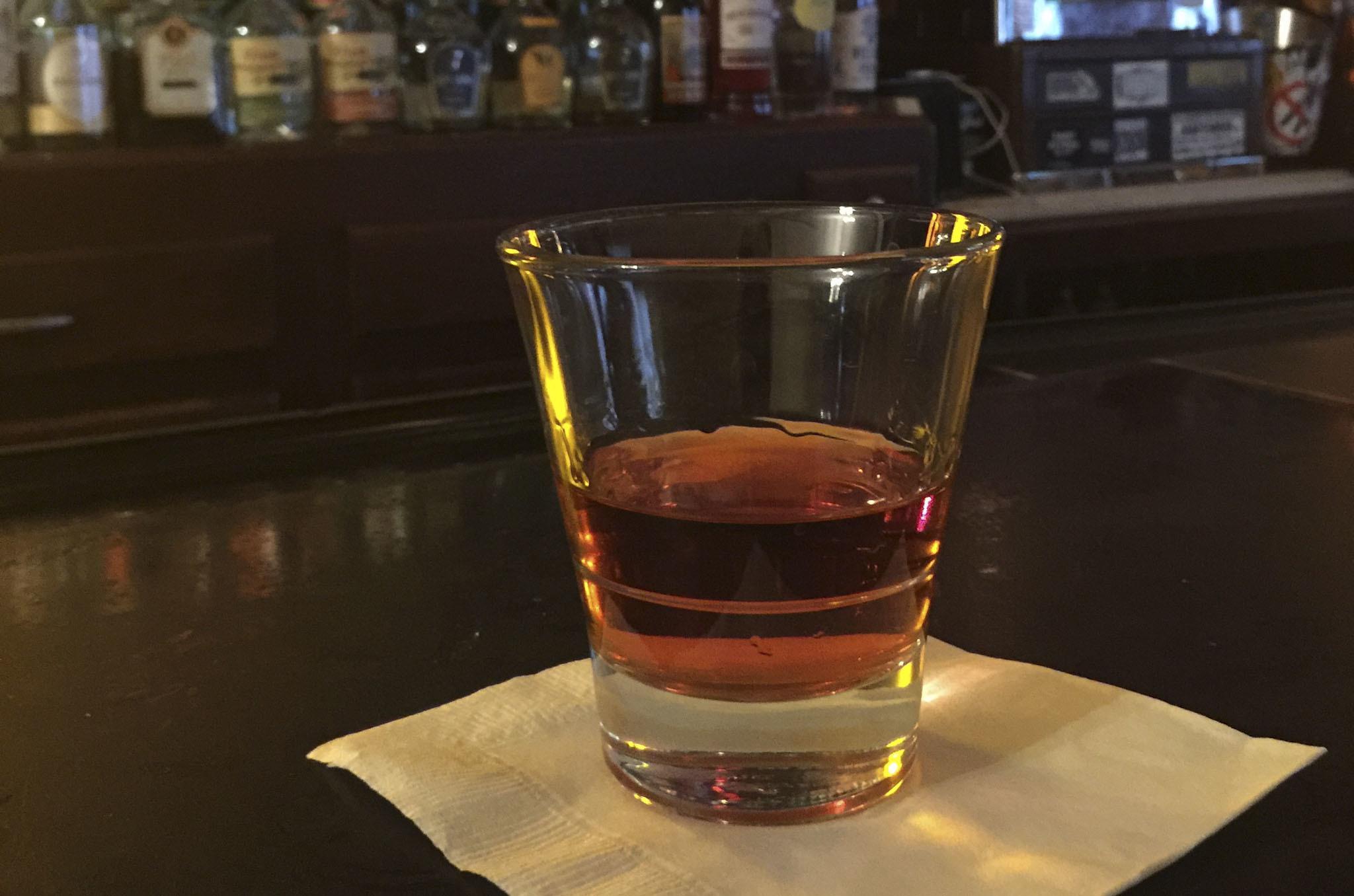 Sazerac at Bar DeVille