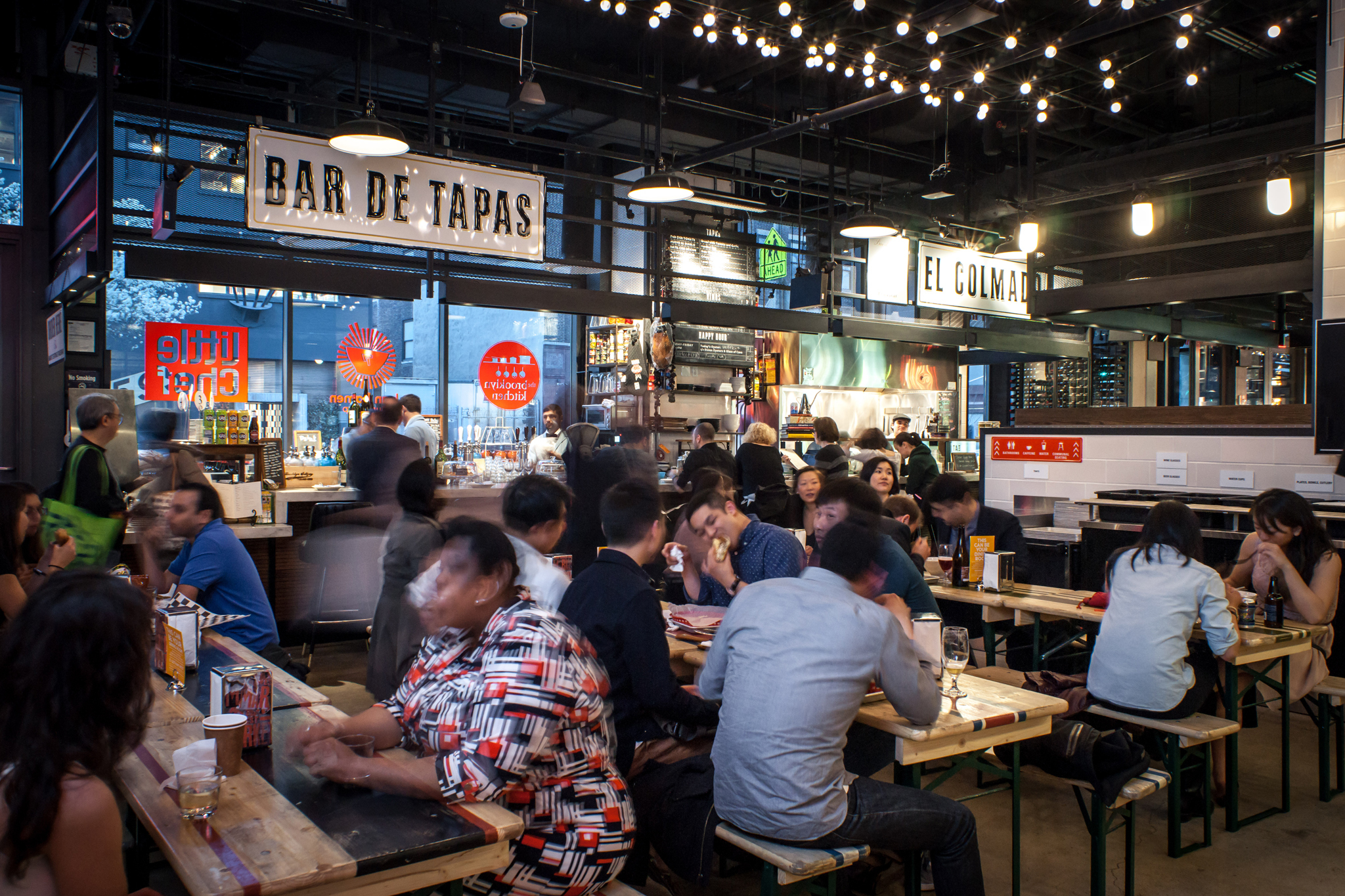 The best food halls in NYC and what you should eat