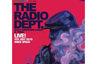 Event poster of Radio Dept. Live in Bangkok