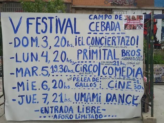 V Festival Campo de Cebada