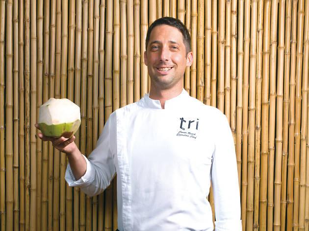 Conor Beach, executive chef at Repulse Bay's Tri