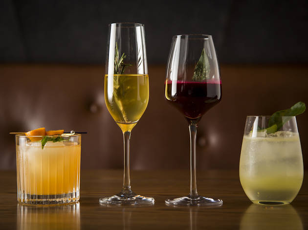 four non-alcoholic cocktails from Bentley Bar