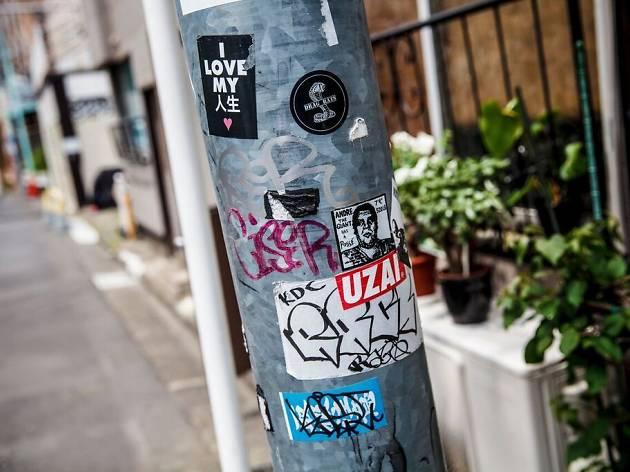 shibuya stickers