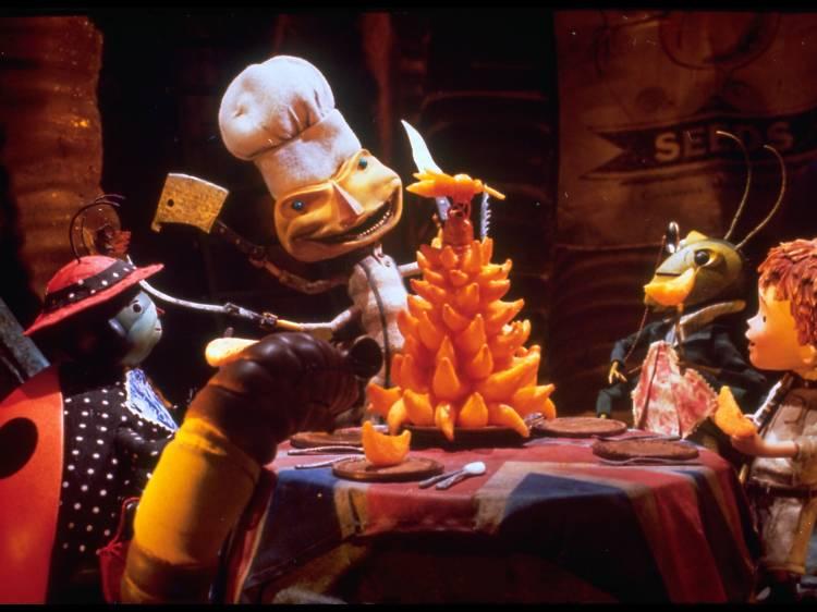'James y el melocotón gigante' (1996), de Henry Selick