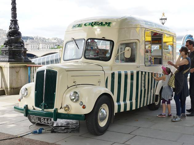 In photos: seven very cool ice-cream vans in London