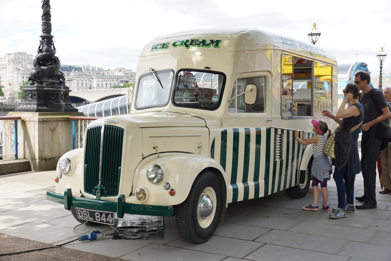 In photos: seven very cool ice-cream vans in London