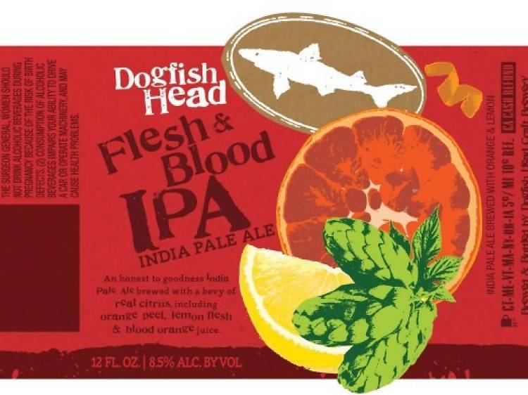 Flesh & Blood IPA, Dogfish Head, Milton, DE