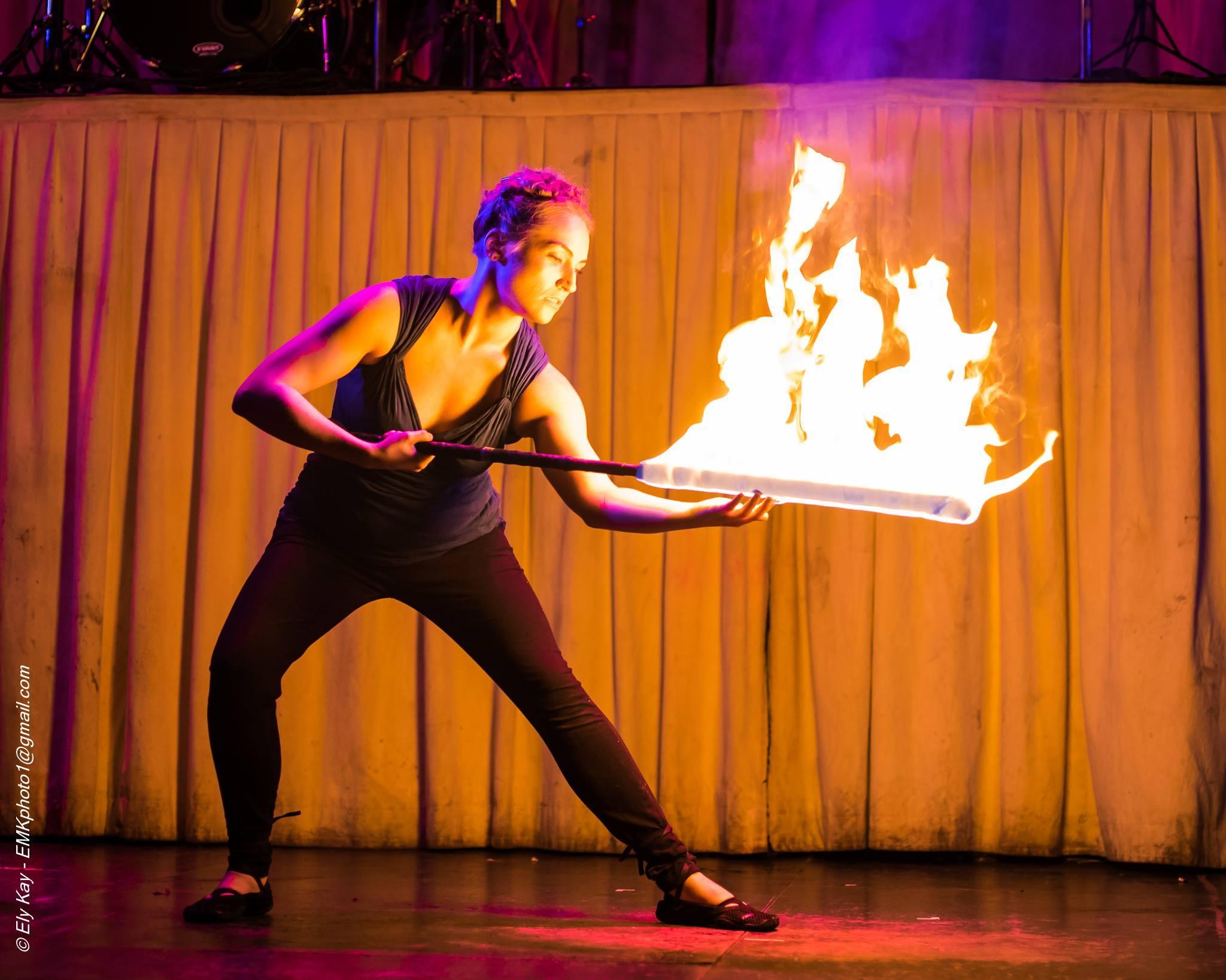 Beginner Fire Fan series with Tara McManus