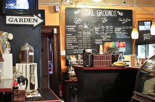 Legal Grounds Coffee Shop in Jersey City
