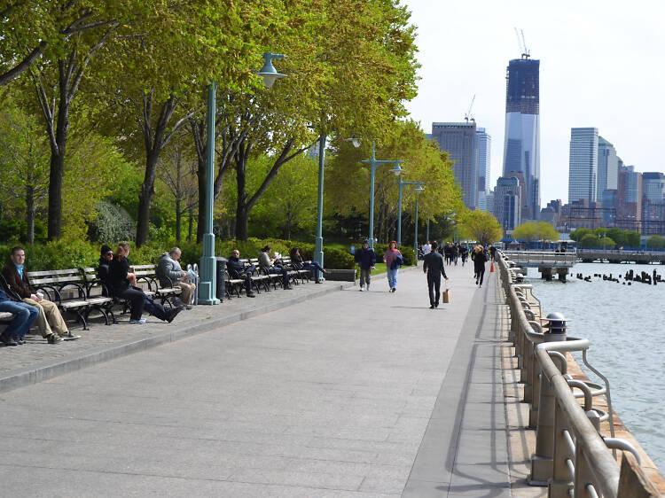 Hudson River Waterfront Walkway