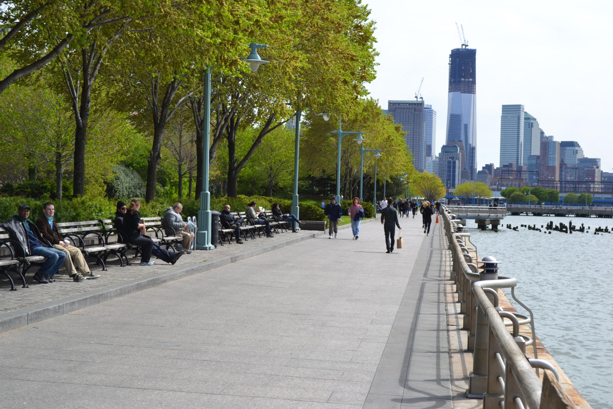 Hudson River Waterfront Walkway