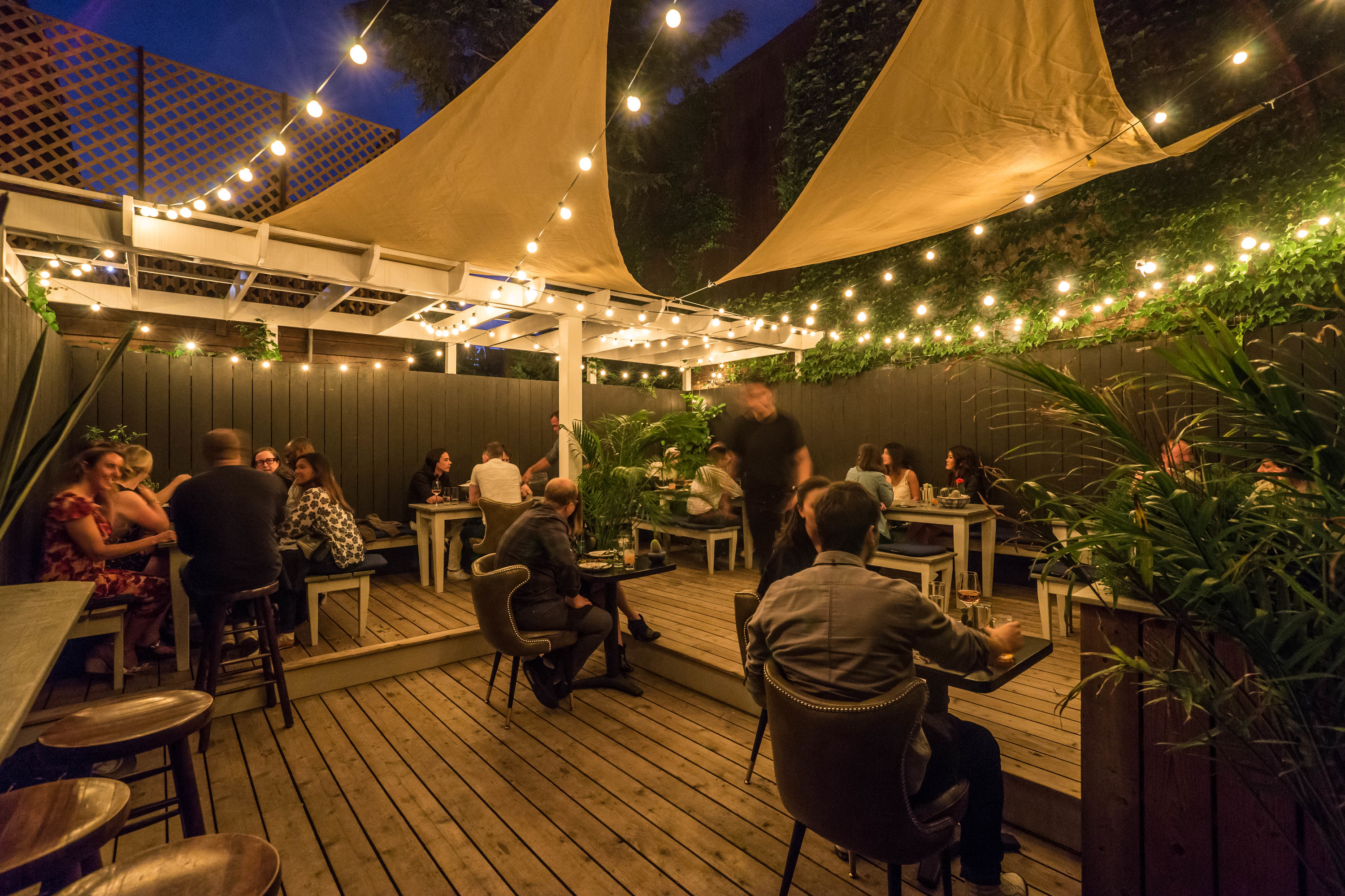 A winter holiday garden is coming to Midnights in Williamsburg
