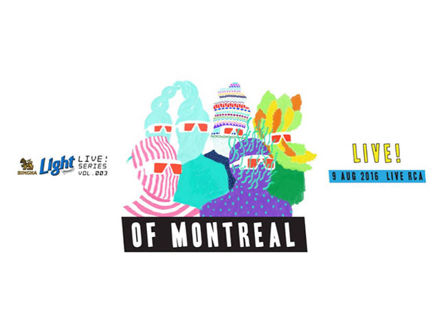 Singha Light LIVE Series Vol. 3 – of Montreal