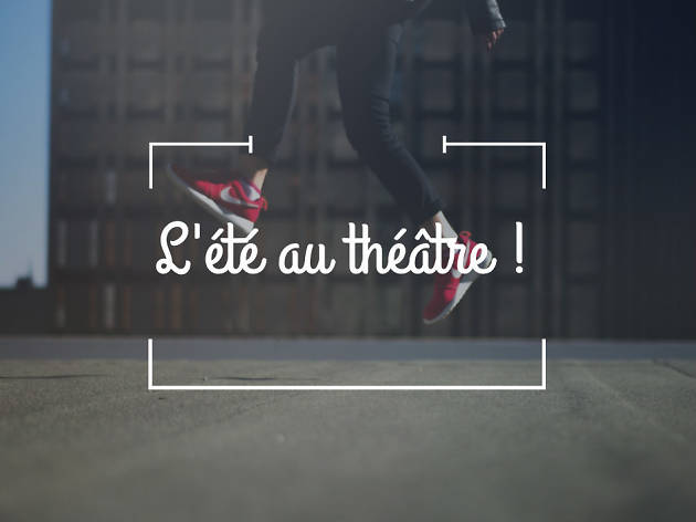 été au théâtre