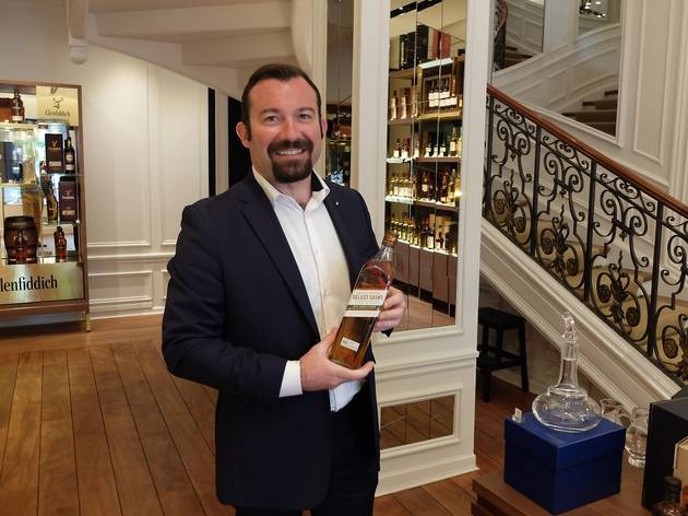 (La sélection d'Yves Vitrant : Johnnie Walker 10 ans, Rye Cask Finish © Nicolas Hecht)