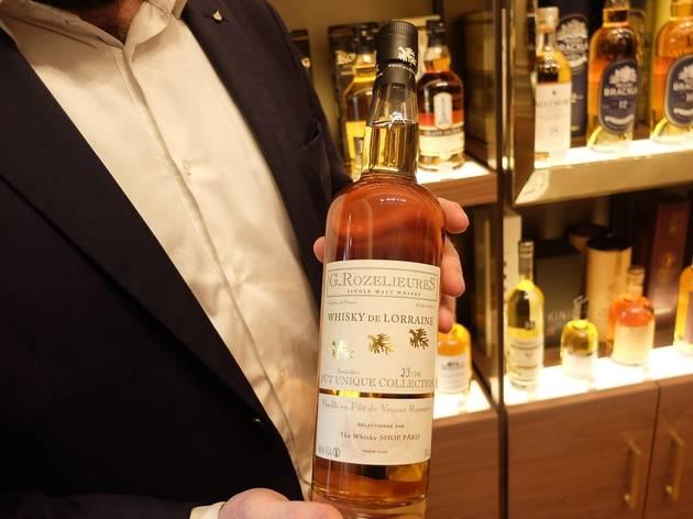 (Le whisky lorrain G. Rozelieures vieilli en fût de Vosnes Romanée © Nicolas Hecht)