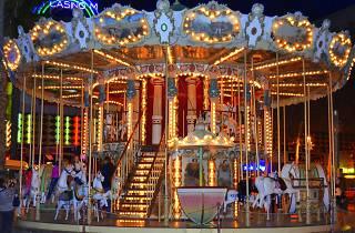 Carousel in Lloret de Mar