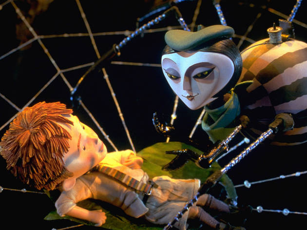 Roald Dahl movies: James and the giant Peach