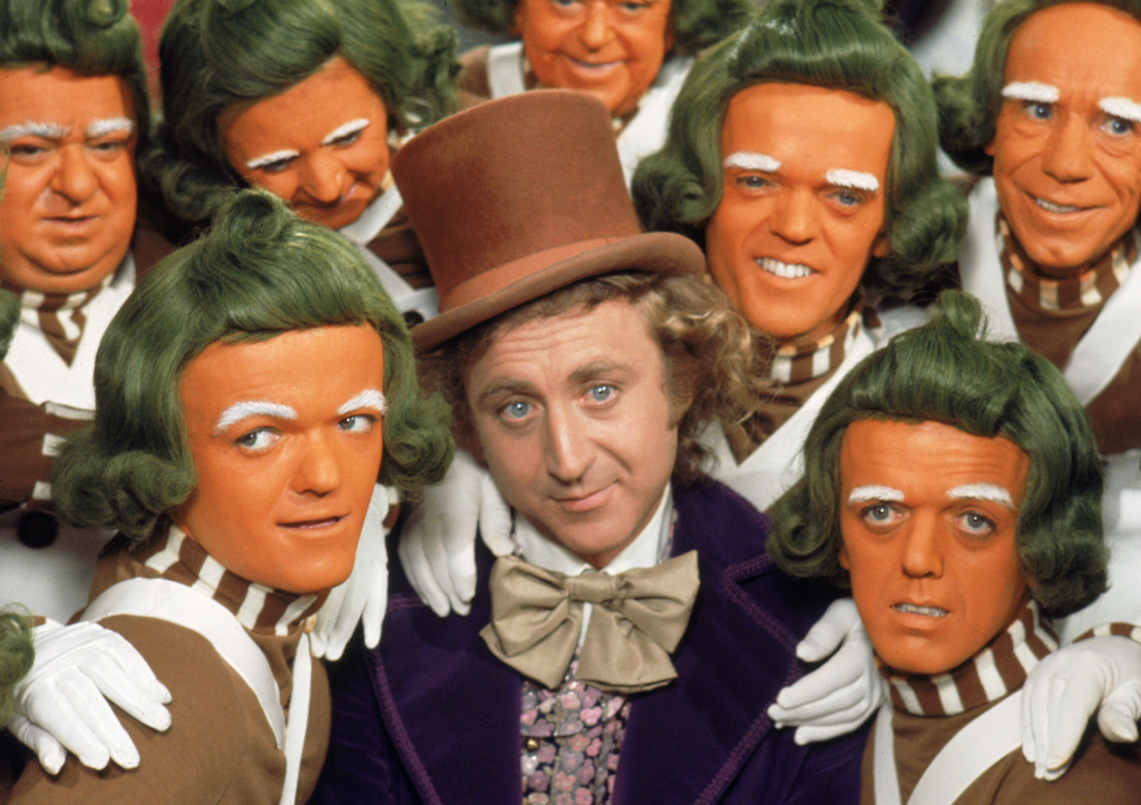 Roald Dahl movies: Willy Wonka And The Chocolate Factory