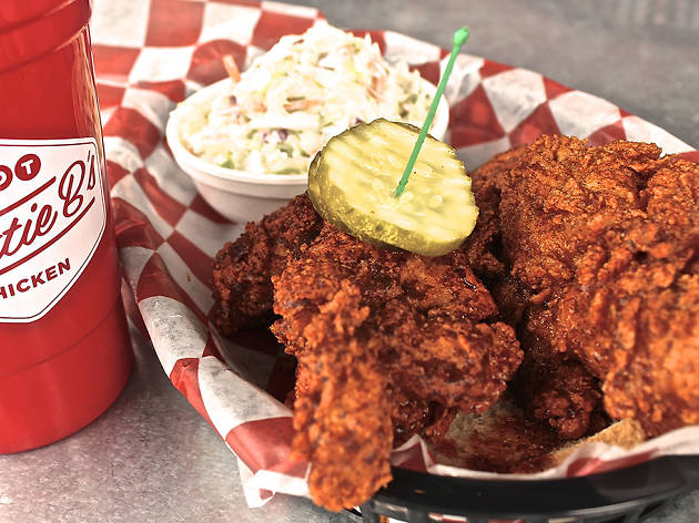 Eat hot chicken at Hattie B's, Prince's Hot Chicken Shack and Party Fowl