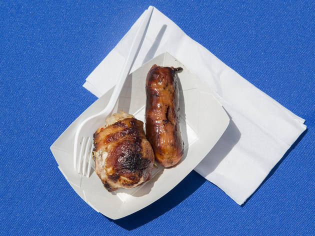 Brazilian Sausage from Texas de Brazil