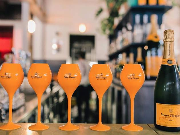 Veuve Clicquot champagne bar (Photograph: Supplied)