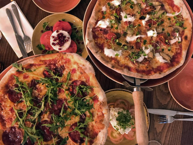Pizza from Sway Bar, Holborn
