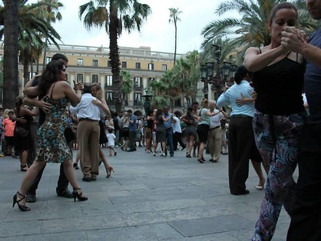 Festival de Tango Barcelona, Gardel, Buenos Aires 2016: Milonga al fresco
