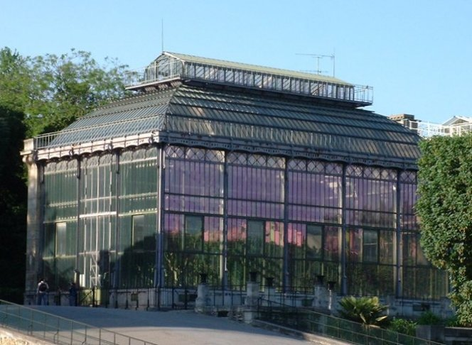 The greenhouses