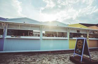 the best beach bars in london, brixton beach boulevard