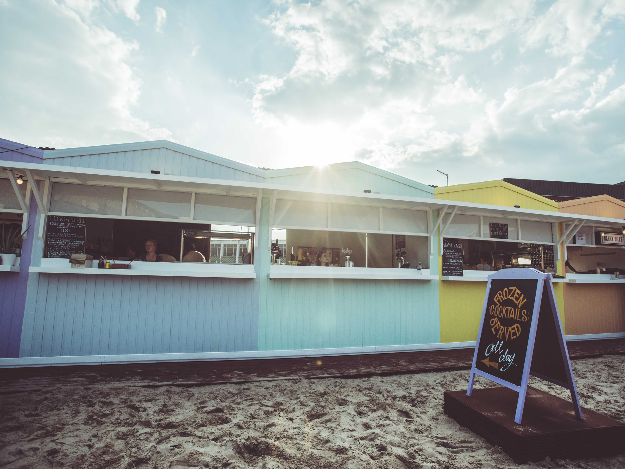 The best beach bars in London