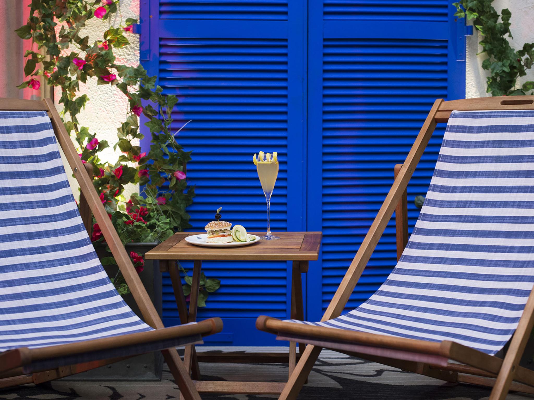 best beach bars in london, le meridien