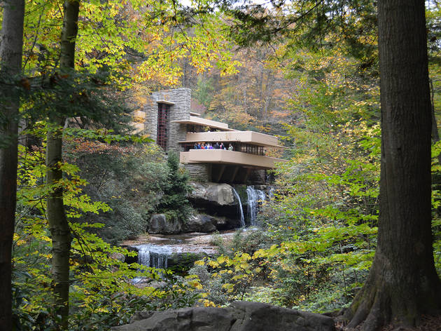 Frank Lloyd Wright, Falling Water, 1935
