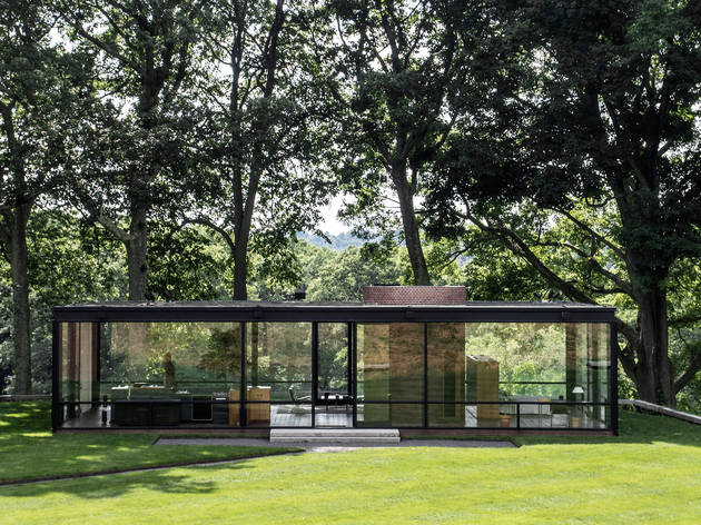 Philip Johnson, The Glass House, 1949