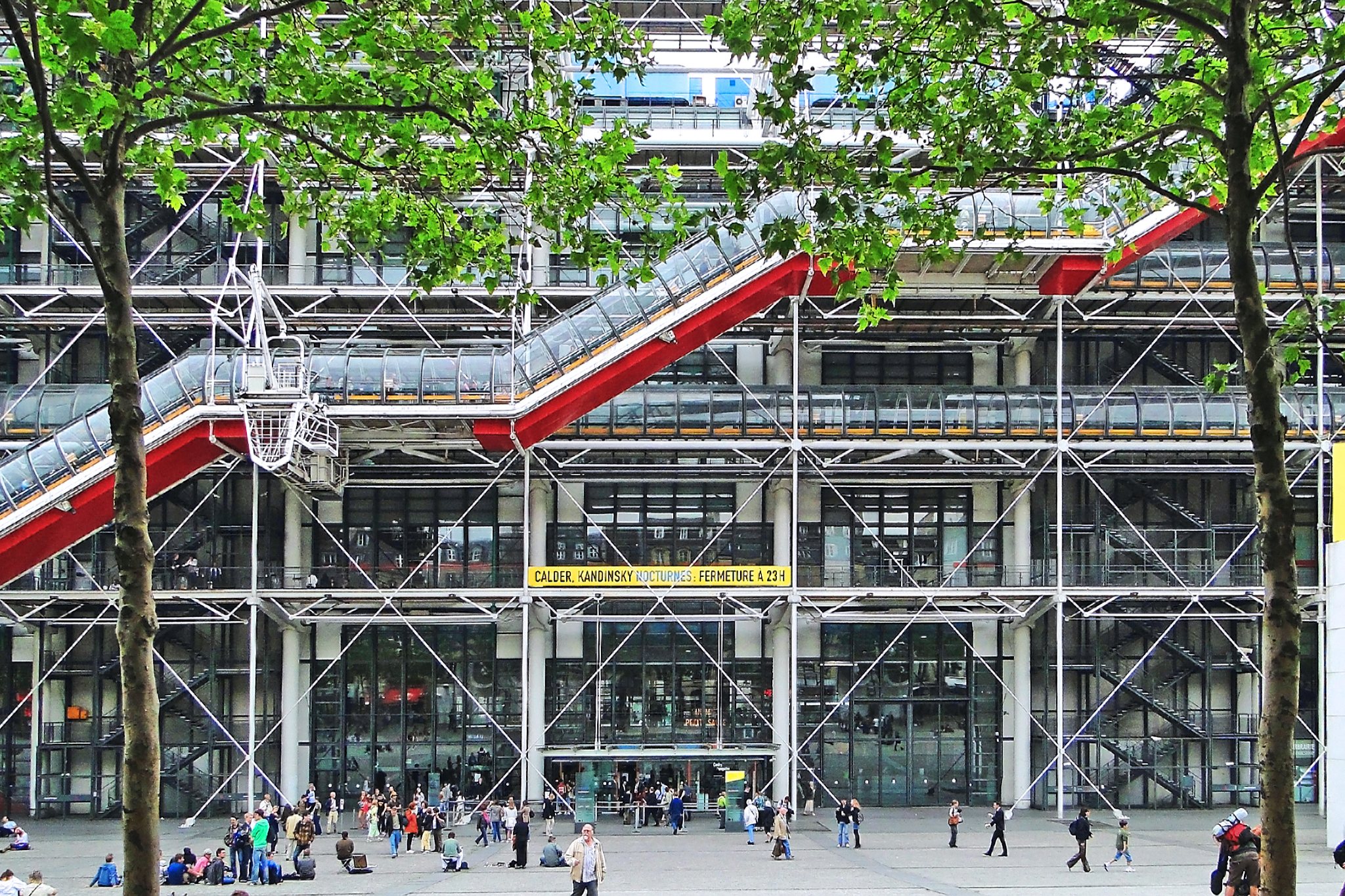 Richard Rogers, Centre Georges Pompidou, 1977