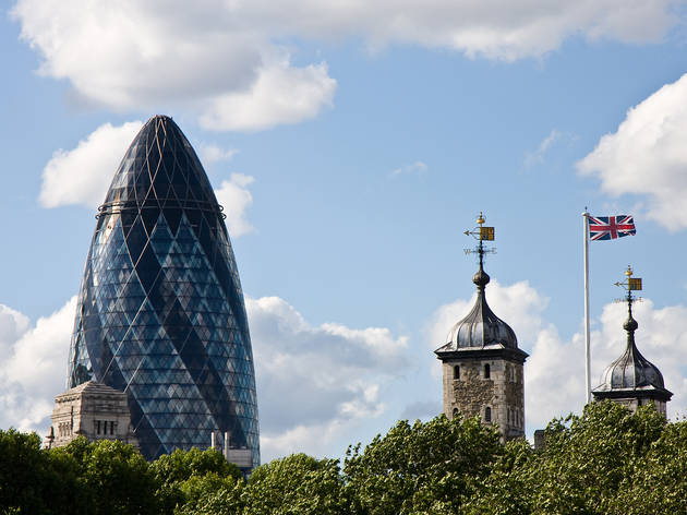 Norman Foster, The Gerkin, 2004