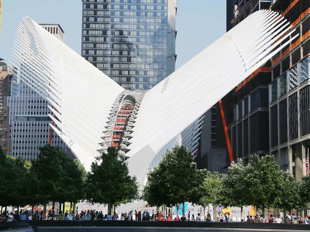 Santiago Calatrava, The WTC Transit Hub, 2016