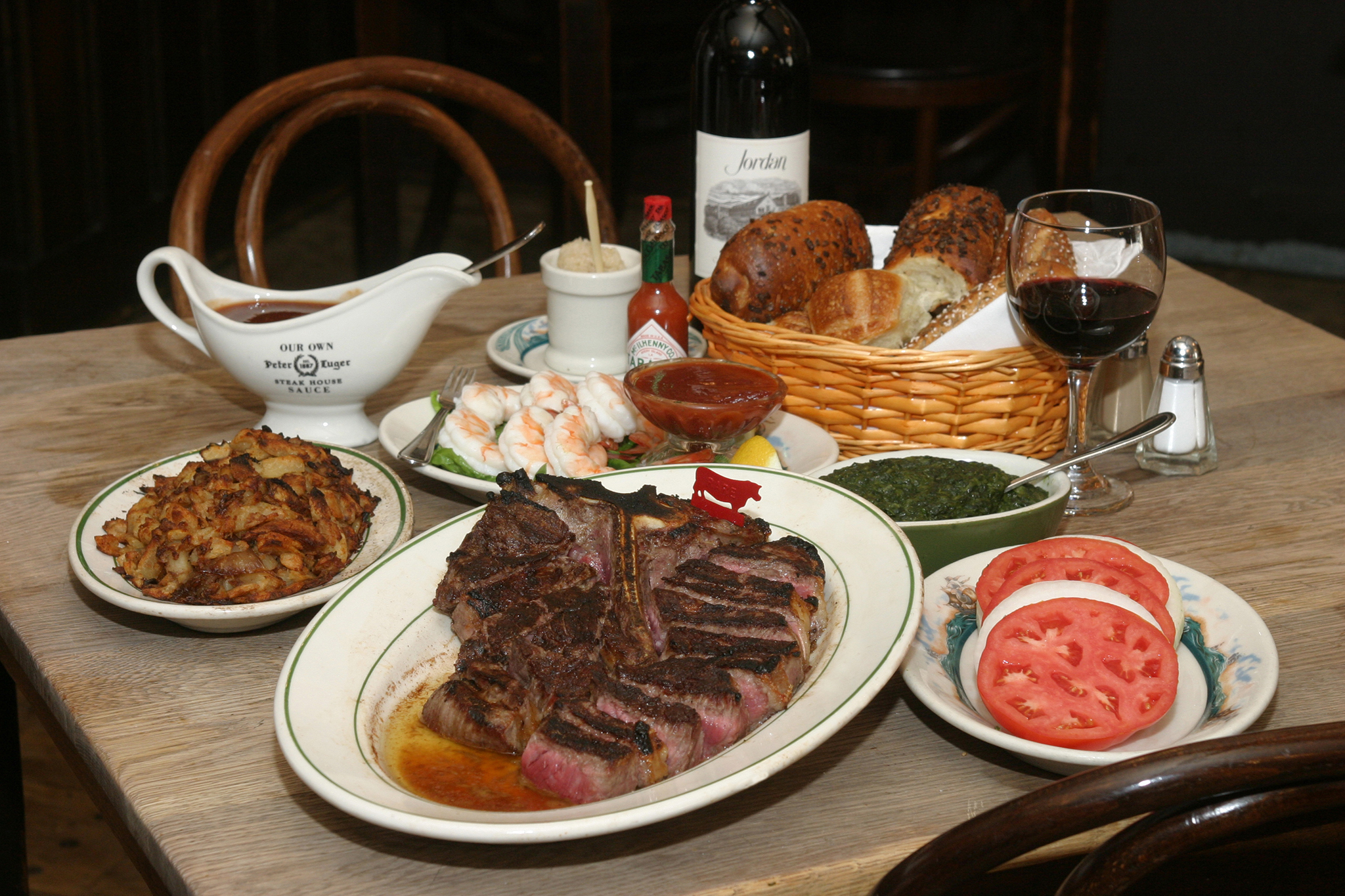 Photograph Courtesy Peter Luger Restaurants