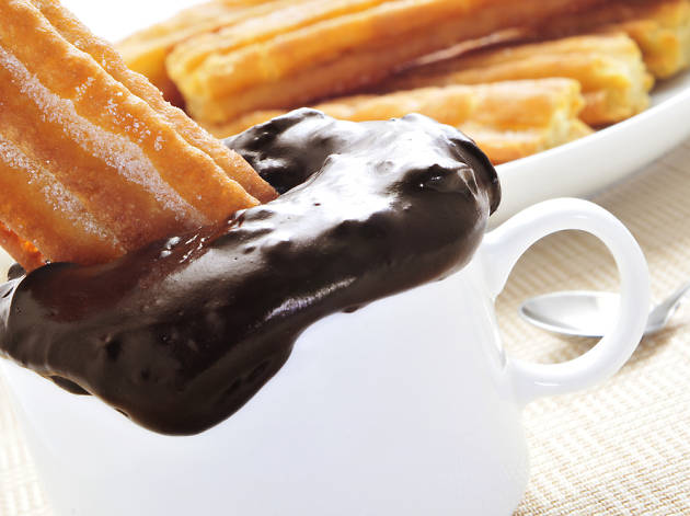 Xocolata amb xurros