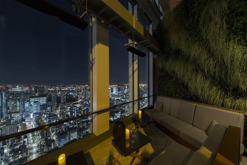 Gaze out over the neon jungle...