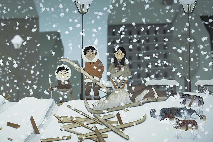 Neu i els arbres màgics