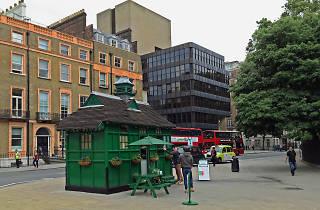 Russell Square Busmen's shelter