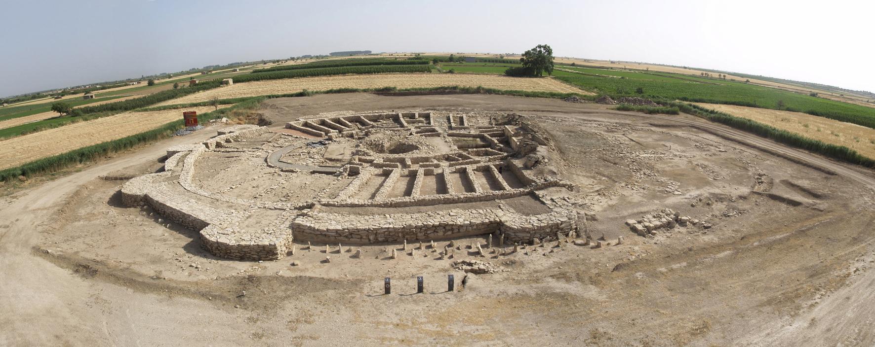 Panoràmica fortalesa Arbeca Les Garrigues